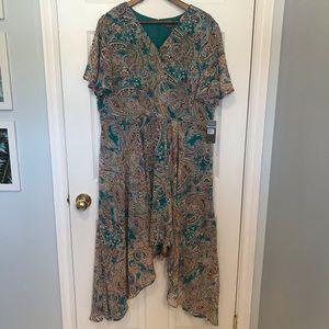 NWT Sharagano New York size 20 Flowy dress